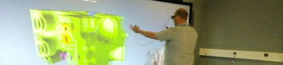 £d Tomography visualisation at Atlas Visualisation Centre. Mark Basham from Daiamond Light Source